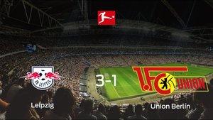 El RB Leipzig consigue los tres puntos ante el Union Berlín (3-1)
