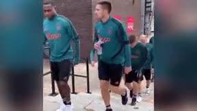 De Ligt entrenó con el Ajax