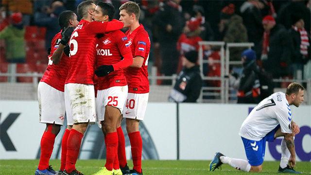 Lluvia de goles en el Spartak de Moscu - Rangers