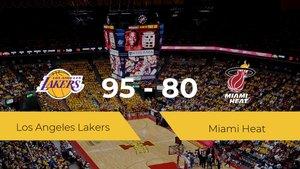 Los Angeles Lakers gana a Miami Heat por 95-80