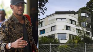 Los detalles de la vivienda de Neymar han salido a la luz