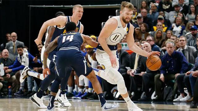 Los Pacers se imponen en casa de los Nuggets (107-115)