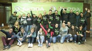 Los participantes del Skoda Titan Challenge