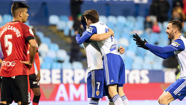 El Mallorca, primera víctima de la nueva ronda de Copa a costa del Zaragoza