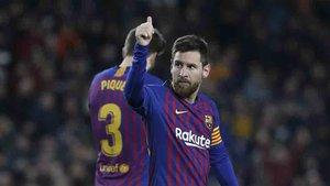 Messi liderará una vez más el ataque blaugrana ante el Valencia