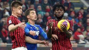 El Milan no pudo pasar del empate 0-0 frente al Sassuolo