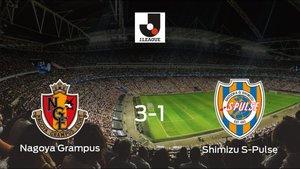 El Nagoya Grampus se lleva tres puntos tras ganar 3-1 al Shimizu S-Pulse