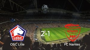 El OSC Lille se hace fuerte en casa y gana al FC Nantes
