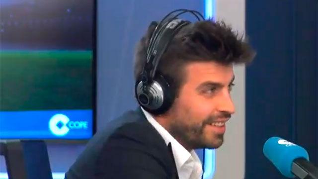 Piqué: No me jodió que Ramos no me invitase a su boda