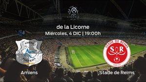 Previa del encuentro de la jornada 16: Amiens SC contra Stade de Reims
