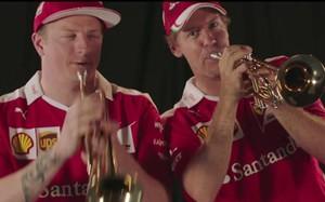Raikkonen y Vettel