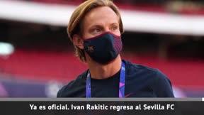 Rakitic deja el Barça y regresa al Sevilla