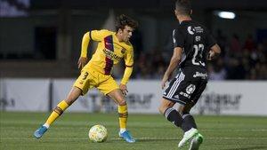 Riqui Puig fue el hombre más peligroso del Barça