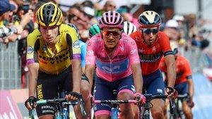 Roglic, Carapaz y Nibali: aquí estará el campeón del Giro