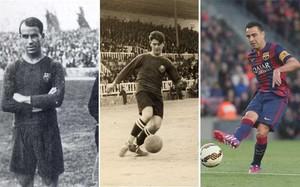 Samitier (75 partidos de Copa con el Barça), Piera (71) y, si Xavi juega contra el Athletic, 70. También puede hacer historia en el torneo del KO