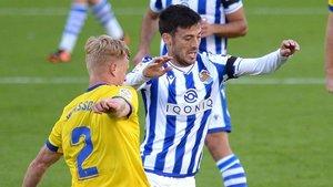 Silva notó molestias en la parte proximal posterior del muslo izquierdo en los minutos finales del partido ante el Cádiz