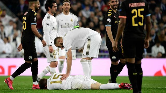 Una serie de catastróficas desdichas: El choque entre Valverde y Benzema