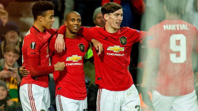 El United se ceba en su último duelo de fase de grupos europea