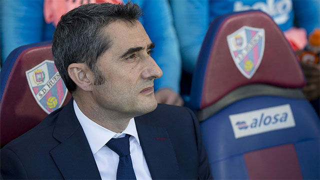 Valverde analiza el empate en Huesca con las múltiples rotaciones