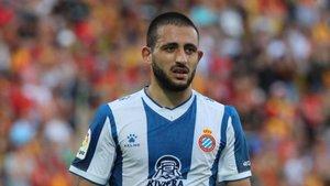 Vargas no podrá estar con el Espanyol ante el Stjarnan.