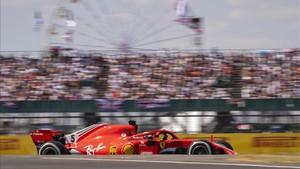 Vettel , favorito en casa
