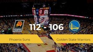 Victoria de Phoenix Suns ante Golden State Warriors por 112-106