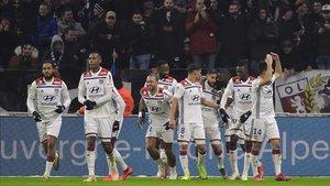 Victoria sonada del Lyon ante el PSG