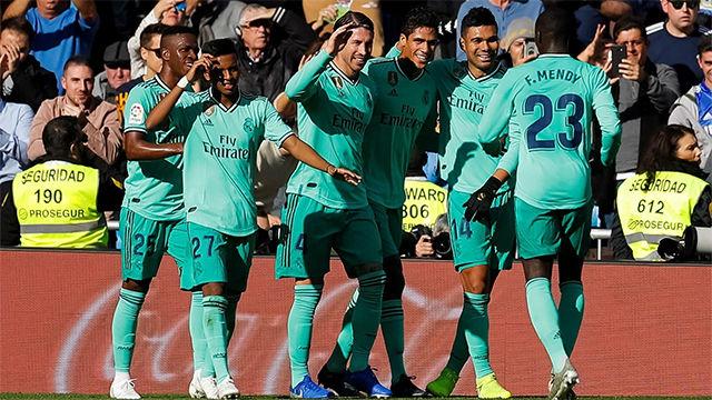 El vídeo de la sufrida victoria del Real Madrid contra el Espanyol