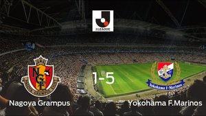 El Yokohama F. Marinos logra una goleada en el estadio del Nagoya Grampus (1-5)