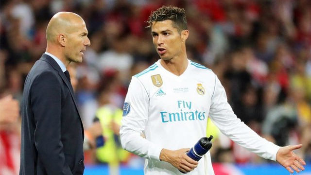 Cristiano Ronaldo Reveals What Zinedine Zidane Used To Say To Him