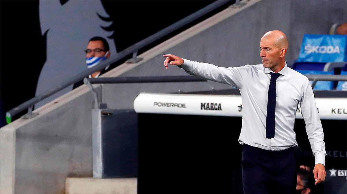 Zidane: Karim es un jugador de este tipo, que inventa cosas en el campo