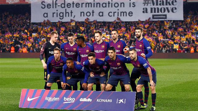 El 1x1 del Barça en la primera parte ante el Real Madrid