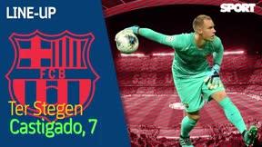 El 1x1 del Villarreal-Barça al descanso
