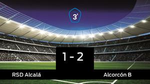 El Alcorcón B vence y se lleva los tres puntos