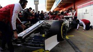 Alfa Romeo, el último coche en presentarse para la temporada 2019