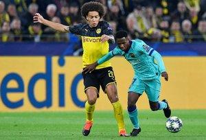 Ansu Fati fue titular en el debut del Barça en la Champions