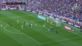 Así fue el regreso de Leo Messi al terreno de juego