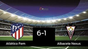 El Atlético de Madrid Femenino se queda los tres puntos al ganar al Fundación Albacete