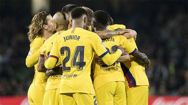 El Barça acaba con su mala racha en Liga fuera del Camp Nou