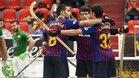 El Barça conquistó Riazor en la primera jornada de la pasada OK Liga