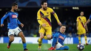 El Barça - Nápoles se disputará en el Camp Nou