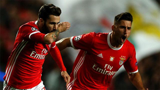 El Benfica tumba al Lyon para reengancharse a la Champions