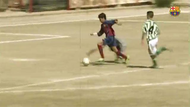 El Betis quiere que Tello repita este gol contra el Barça