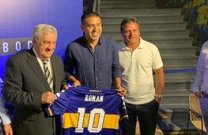 Boca Juniors firmó con Adidas