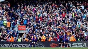 El Camp Nou puede vivir el sábado un nuevo alirón de Liga