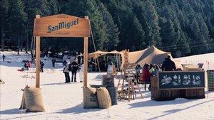 Campamento base de San Miguel en Masella