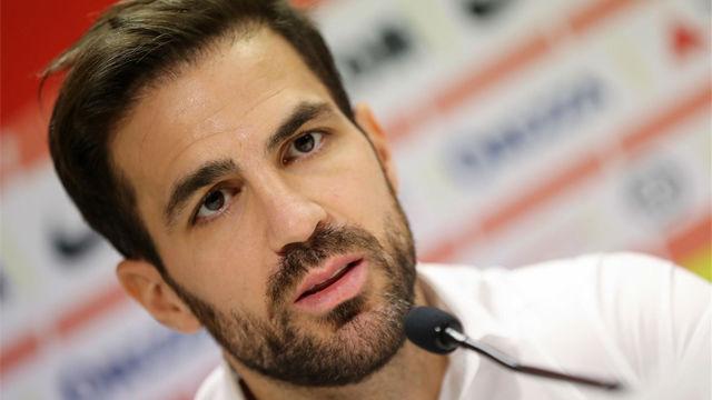 Cesc Fàbregas: Quiero ayudar a Henry