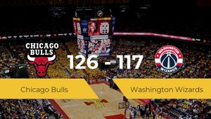 Chicago Bulls se queda con la victoria frente a Washington Wizards por 126-117