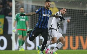 Chiellini volvió a caer lesionado ante el Inter
