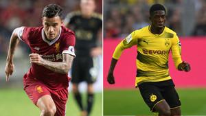 Coutinho y Dembélé, los grandes objetivos del Barça